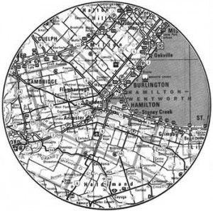 The HSA 40.2 km circle