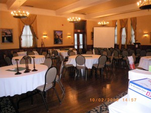 LIUNA Station Room ready for 90th Anniversary  Celebration