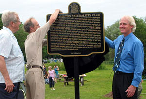 Unveiling of Historic Plaque at Princess Point  (Photo: Brian Henley)