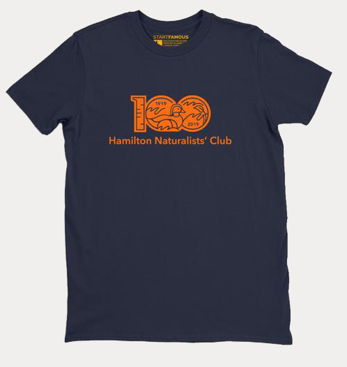 Hamilton Naturalists' Club 100th Anniversary Shirts